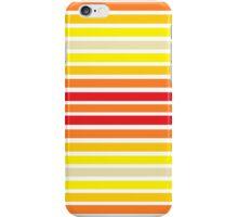 Red Orange Squares iPhone Case/Skin
