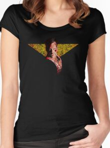 """McClane"" Women's Fitted Scoop T-Shirt"