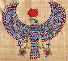 Ra: Falcon Pectoral by Aakheperure