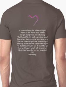 Beautiful Word For Girl T-Shirt