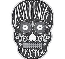 Memento mori sugar skull by astrozombie