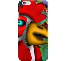 Chicken in the Foliage. iPhone Case/Skin