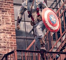 Michael Mulligan as Captain America (10.1 - Photography by Sean William / Dragon Ink Photography) by mostdecentthing