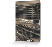 'Everything gone' (hdr) Greeting Card