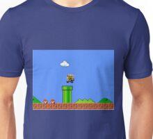 Bowser Chasing Mario Unisex T-Shirt