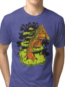 Zombie Giraffe Riot Tri-blend T-Shirt