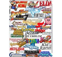 Retro Nintendo Titles  iPad Case/Skin