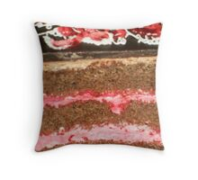 Chocolate Nirvana for Jan  Throw Pillow