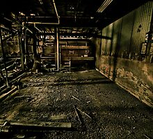 Tannery Boiler by Reg  Lyons