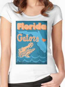 Florida Gators Women's Fitted Scoop T-Shirt