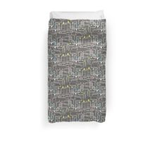 Return Of The Retro Video Games Circuit Board Duvet Cover