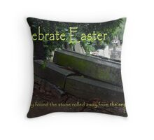 Celebrate Easter Throw Pillow