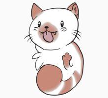 Flame Point Chibi Cat by MattiCakes