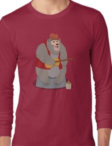 Big Al, The Country Bear Long Sleeve T-Shirt