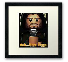 Oh Here Viggo Again... Framed Print