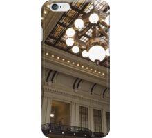 Classic Architecture, Waiting Room, Historic Hoboken Terminal, Hoboken, New Jersey iPhone Case/Skin