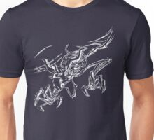 The Cursed Ones - Dragon _white Unisex T-Shirt