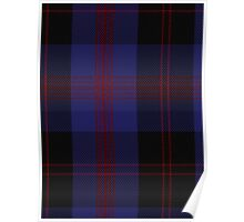 00187 Angus District Tartan  Poster