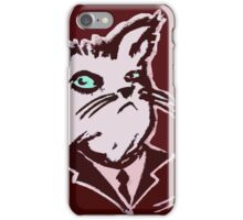 The General's Cat iPhone Case/Skin
