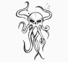 Skullsquid 3 Kids Tee