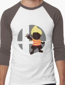 Lucas (Smash 4 Render) - Sunset Shores Men's Baseball ¾ T-Shirt