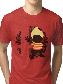 Lucas (Smash 4 Render) - Sunset Shores Tri-blend T-Shirt