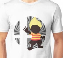 Lucas (Smash 4 Render) - Sunset Shores Unisex T-Shirt