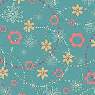 Retro Flowers by Sydney Eller