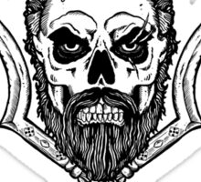 Skull and Thrones Sticker