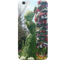 Elsa Topiary Flower and Garden Festival- Epcot iPhone Case/Skin