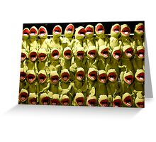 A Chorus of Kermit Greeting Card