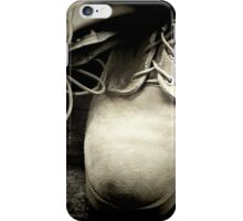 Boots on the Ground iPhone Case/Skin