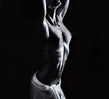 Bathing In Shadows by Simon Aberle