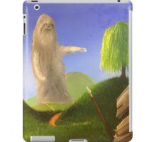 Sloth and Knight iPad Case/Skin