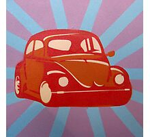 VW Beetle Photographic Print