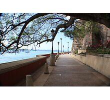 Old San Juan Paseo Photographic Print