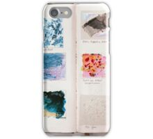 Sketchbook Page it Up iPhone Case/Skin