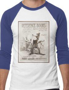 Reference @ the Metcalfe - #risg2015 Men's Baseball ¾ T-Shirt