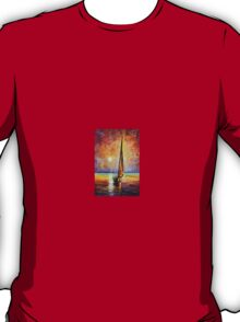 Gold Sail — Buy Now Link - www.etsy.com/listing/177658064 T-Shirt