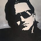 U2 Bono by Laura Fowler