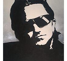 U2 Bono Photographic Print