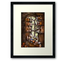 Various Potions  Framed Print