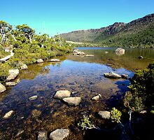 Crystal clear water flowing from Lake Newdegate  by Mark Ashton