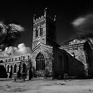 St Giles, Northampton UK. Infrared by David W. Harris
