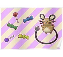 Dedenne's Candy Time! Poster