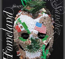 Homeland Security Sugar Mask by uniquesparrow