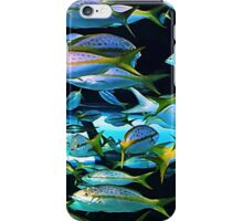 Yellow Striped Fish iPhone Case/Skin