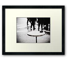 Paris Table Framed Print