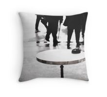 Paris Table Throw Pillow