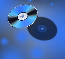 DVD Disk in 3D view by Gert